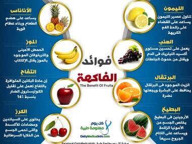 Ben. Fruit in Arabic