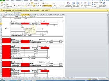 Excel Form Creator
