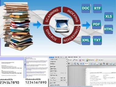 OCR/ICR Conversion Services