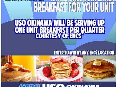 USO Pancake Flyer