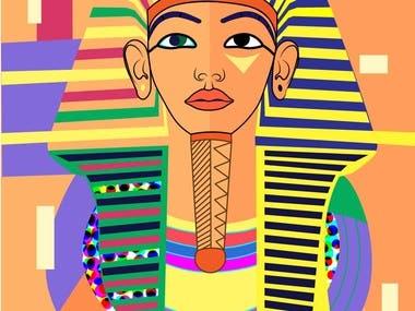 The Image of Pharaoh   Illustration