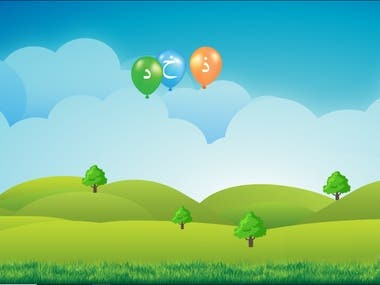 JS Baloon Game for kids Learning