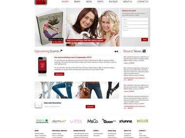 Fashion Web Designs