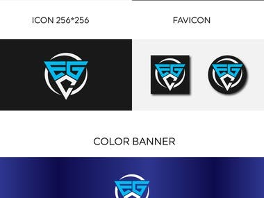 Gaming logo guideline and Banner