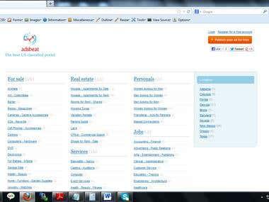 adsbeat.us  - classified portal