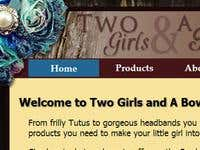 Two Girls and A Bow Database website