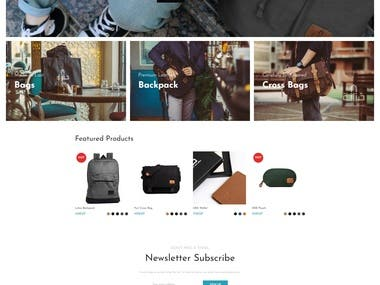 Bag Online store