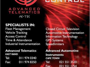 AC-TEC Magazine Advert