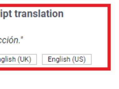 Spanish to English Article Translation