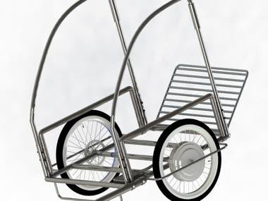 Mechanical Design of trailer
