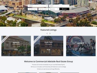 WordPress listing website