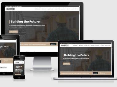 WP HIGHBRIDGE CONSTRUCTION COMPANY WEBSITE