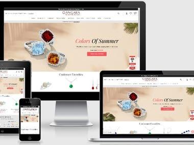 Magento E-Commerce Website
