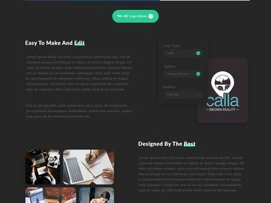 Tronbuilder (A logo maker website)website