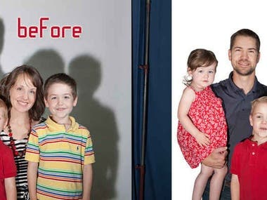 PHOTOSHOP IMAGE EDITING 24/7 SERVICES
