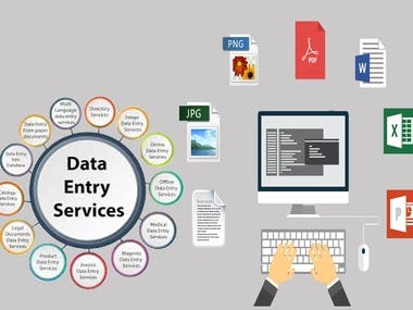 data entry services,excel or word,copy paste work