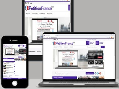 Pétition France Android Application