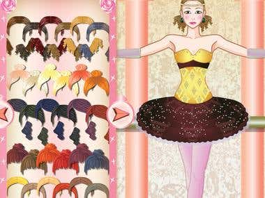 The Ballerina Dress up