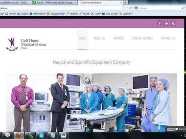gulfhousemedical.com - wordpress web site