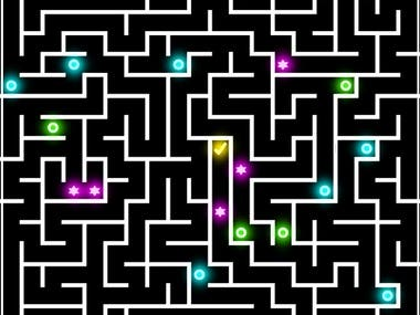Amaze multiplayer mobile app