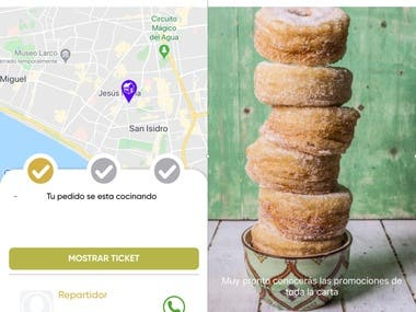 King-Kronuts(food-ordering & delivery)