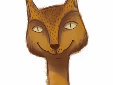 Character Cat Design