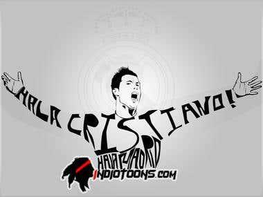 Cristiano Ronaldo, Hala Madrid.