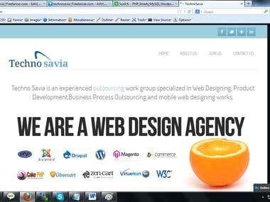 Technosavia.com - wordpress web site