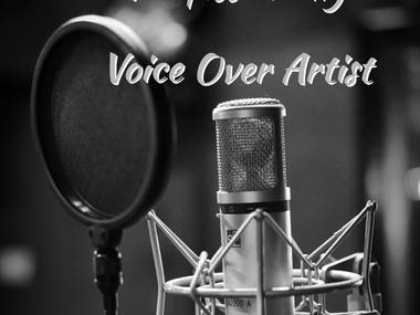 I will provide you a professional voice over