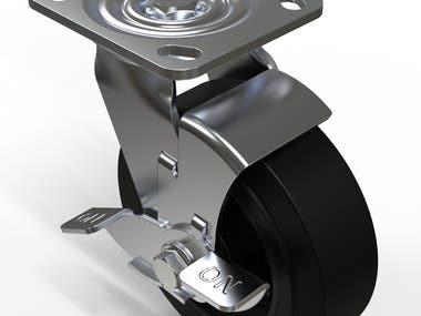 Wheel modeling
