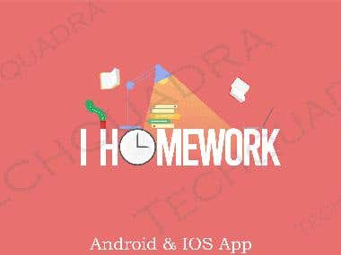 HOMEWORK APP FOR PARENT & STUDENT
