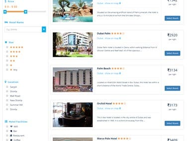 GRN Hotel booking