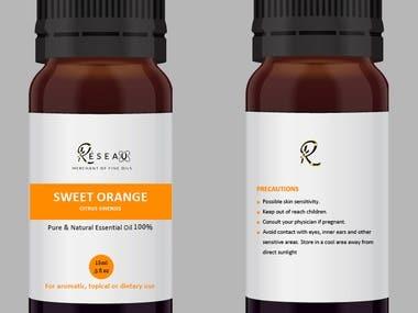 Label + Bottle Design