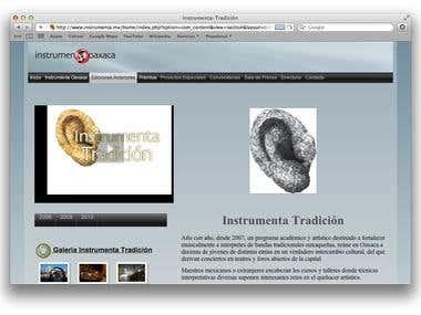 Web Site Instrumenta