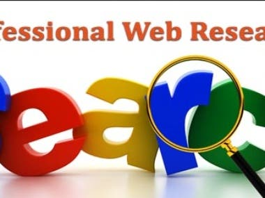 do web Research