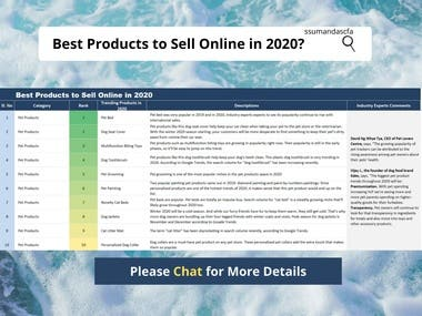 E-commerce Product Research | Top Products to Sell Online