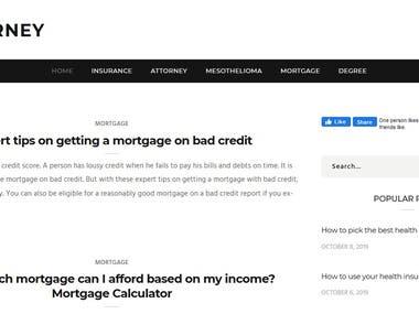 USA Insurance Attorney - Blog Website
