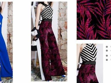 ladies dresses printed