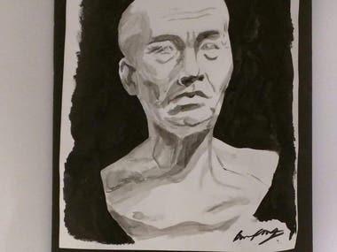India Ink Portrait