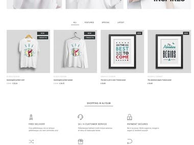 Prestashop Configure and install theme