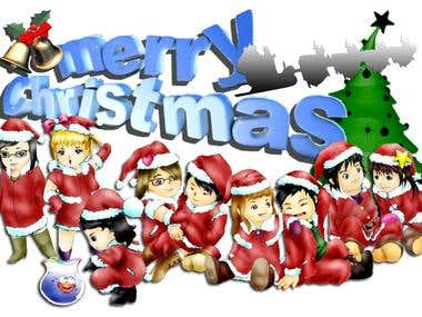 Cartoon Animate - Xmas