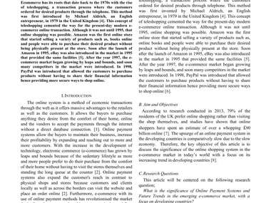 Published Research Paper