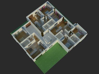 3D House/Character /interior/exterior/object model design