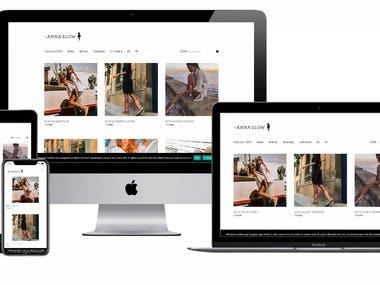 Shopping Website: Wordpress + Woocommerce