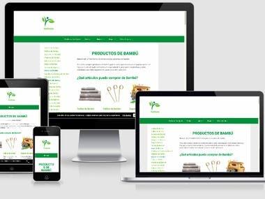 Ecommerce Website + SEO
