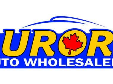 Logo desing for Aurora Auto Wholesalers