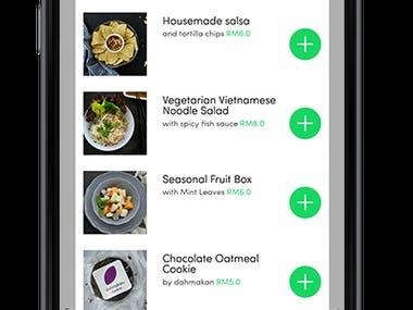 Food Deliver App