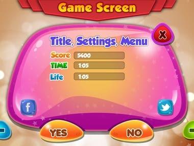 Game Design, Ui Design 1