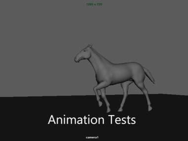 Horse Animation Test