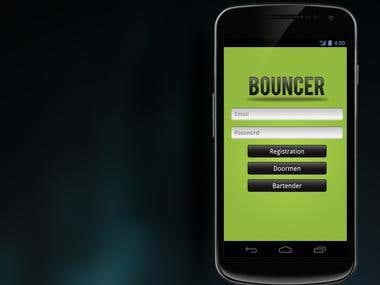 Android and iPhone App UI Design